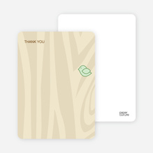 Nesting Bird: Thank You Cards - Mint Green