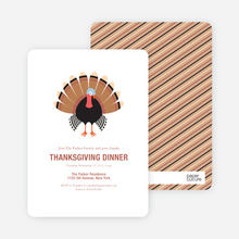 Thanksgiving Dinner - White