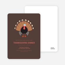 Thanksgiving Dinner - Brown