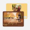 Thanksgiving Foliage Thanksgiving Invitations - Chocolate