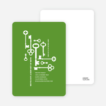 The Keys to Moving: Change of Address Cards - Green Planet