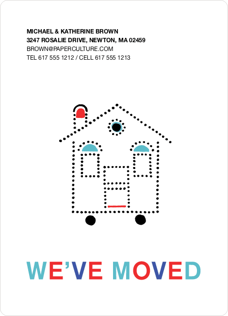 Moving Home Announcement - Multi