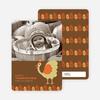 Thomas the Turkey Fall Photo Cards - Lemongrass