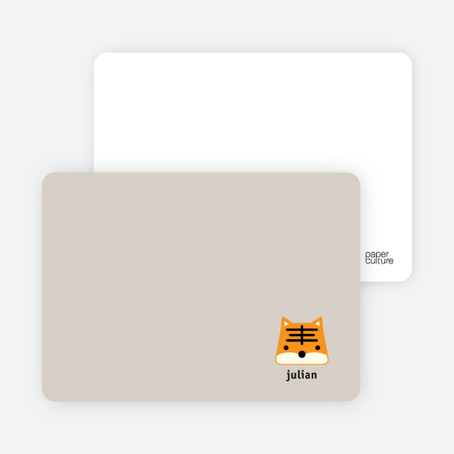Tony the Tiger Stationery and Note Cards - Sand