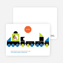 Choo Choo Train Arrival - Dark Grey