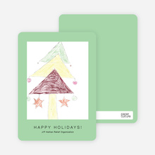 Tree of Hope J/P HRO Holiday Cards - Wintergreen