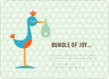Stork Bundle of Joy - Lime Salt