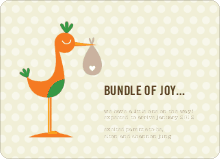 Stork Bundle of Joy - Lemon Pool
