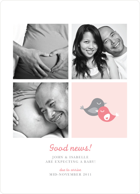 Foursquare Pregnancy Announcements - Sweet Heart