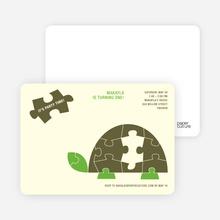 Turtle Puzzle - Mocha