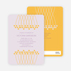 Unique Bridal Shower Invitations - Sun Yellow