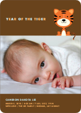 Tiger Birth Announcement - Carrot