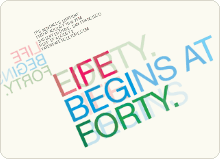 Life Begins at Forty - Multi