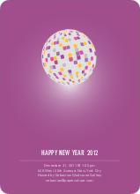 New Year's Party Invitation - Amethyst