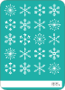 Snowflakes Galore - Back View