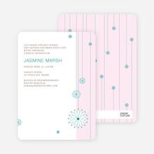 Bridal Tea Shower Invitations - Pink