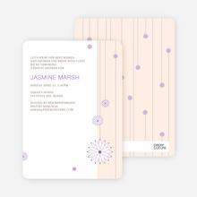 Bridal Tea Shower Invitations - Yellow