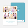 Capture the Memories Save the Date Cards - Blue