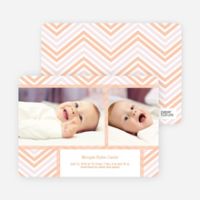Chevron Stripes - Orange
