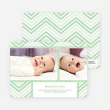 Chevron Stripes - Green