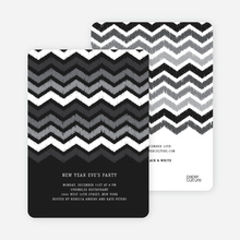 Chevron New Year - Black