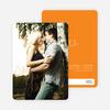 Cloud Writer Save the Date Cards - Orange
