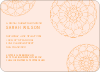 Floral Wedding Shower Invitations - Pink