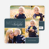 Merry and Bright Holiday Cards - Blue