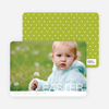 Modern and Minimalist Easter Photo Cards - Green