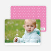 Modern and Minimalist Easter Photo Cards - Pink