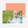 Modern and Minimalist Easter Photo Cards - Orange