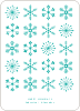 Snowflakes Galore - Blue