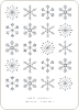 Snowflakes Galore - Gray