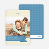 Vintage Save the Date Cards - Blue
