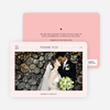 Wedding Photo Thank You Notes - Pink