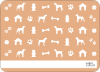 Dog Stationery - Back View