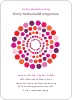 Dots Baby Shower Invitations - Front View