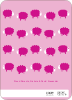 Bah Bah Pink Sheep - Back View