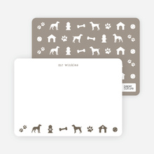 Dog Stationery - Brown
