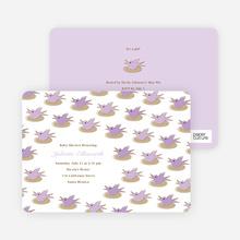 Nesting Bird - Lavender