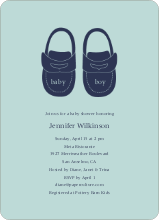 Baby's New Shoes - Powder Blue
