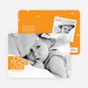 Bold Joy, Peace & Love Holiday Photo Cards - Papaya