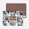 Brady Bunch Holiday Photo Cards - Russet