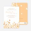 Butterfly Joy Wedding Shower Invitations - Papaya