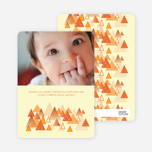 Christmas Tree Forest Holiday Cards - Carrot
