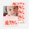 Christmas Tree Forest Holiday Cards - Brick