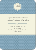 Classic Hexagon Party Invitations - Dusty Blue