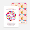 Colorful Dots Baby Shower Invitations - Multi