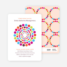 Dots Baby Shower Invitations - Multi