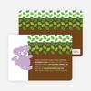 Cuddly Koala Baby Shower Invitation - Lavender